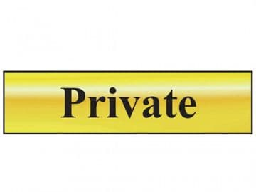 Private - Polished Brass Effect 200 x 50mm